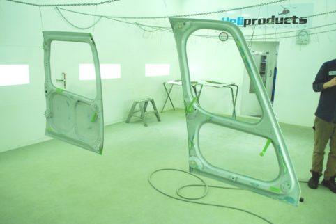 AS350 sliding door